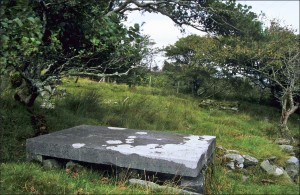 Eliza Nangle's burial spot, Dugort