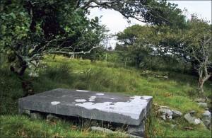 Eliza Nangle's burial spot, Dugort